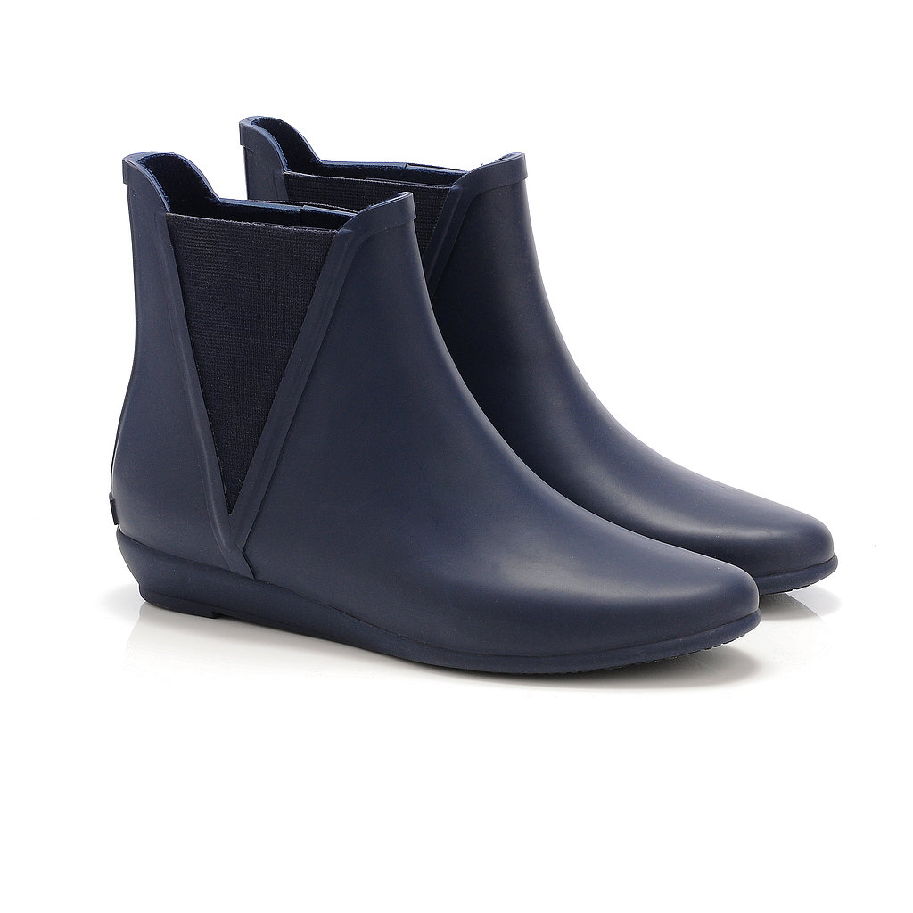 Loeffler Randall Slip-On Boot in Navy ($150)
