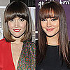 Blunt-Cut Fringe Celebrity Hair Trend
