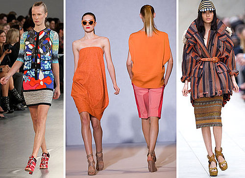 New Season Fashion Trends from London Spring Summer 2012 Fashion Week: Ethnic, Pastels, Print Mashing and more!