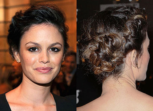 Five Different Ways to Wear the Braided Up Do as Seen On Rachel Bilson, Nina Dobrev and Kourtney Kardashian