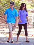 Selena Gomez and Justin Bieber went casual.