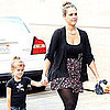 Jessica Alba and Honor Warren Running Errands in LA Pictures