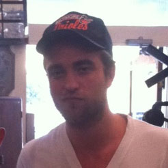 Robert Pattinson Furniture Shopping at T.I.N.I. in LA