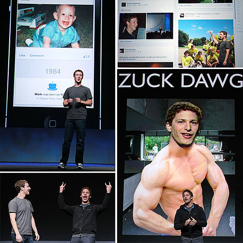 Mark Zuckerberg F8 2011 Keynote Photos