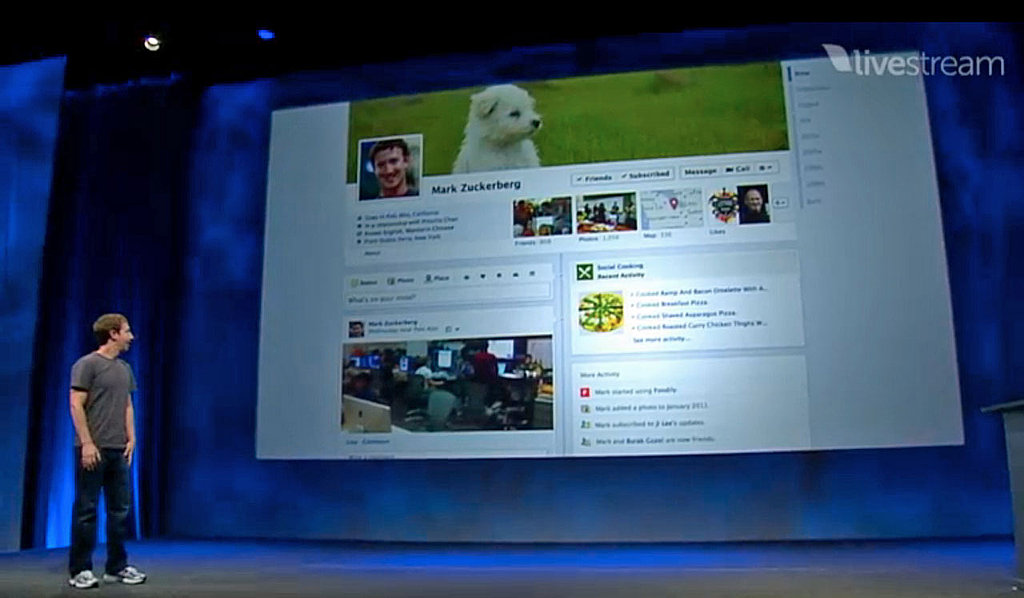 Facebook Timeline Goes Live Today