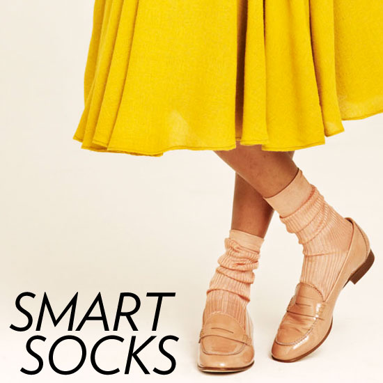 The Best Socks to Wear With Booties, Loafers, and Open-Toe Shoes!