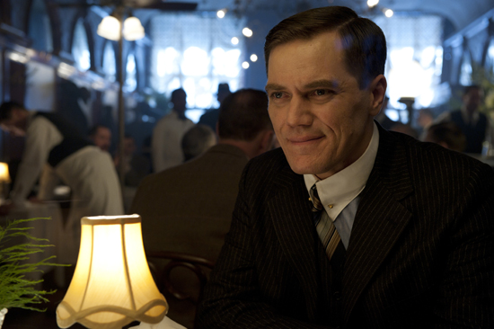 Michael Shannon as Agent Nelson Van Alden on Boardwalk Empire.  Photo courtesy of HBO