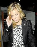 Kate Hudson out in London.
