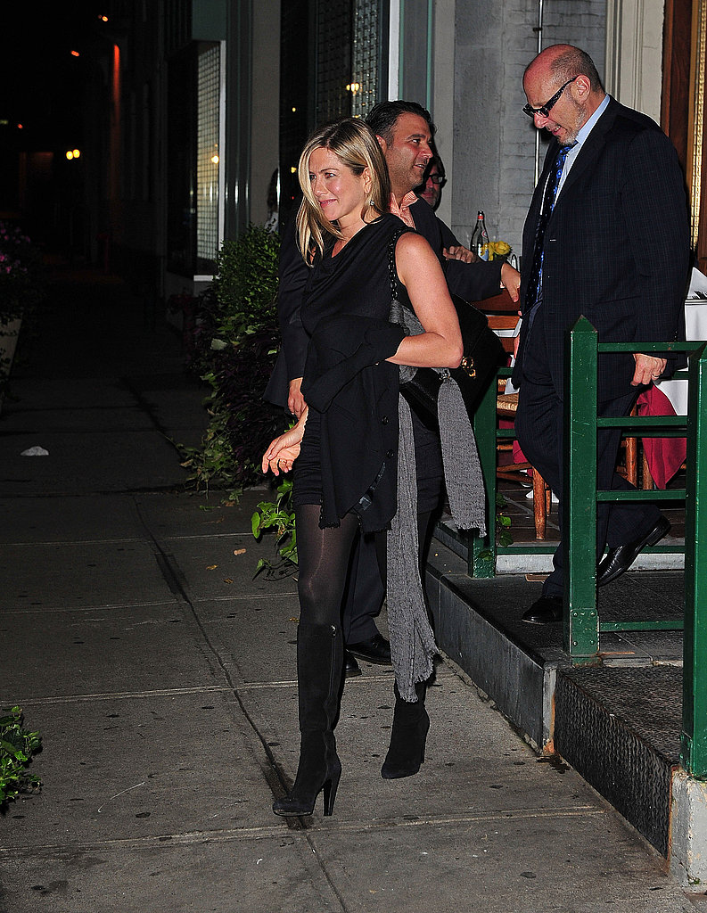 Jennifer Aniston and Justin Theroux Dress Up For a Date Night