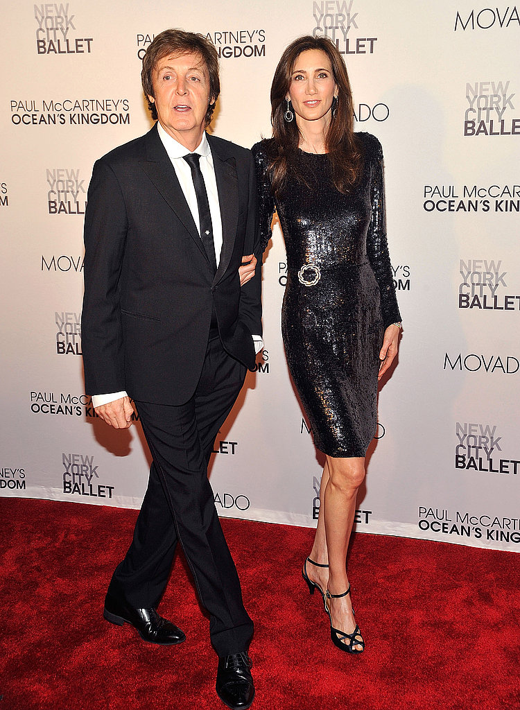 Nancy Shevell and Paul McCartney's night out in NYC