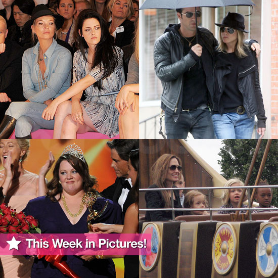 Angelina at Legoland, Big Emmy Surprises, Kristen Stewart Makes a Fashion Week Appearance, and More in This Week in Pictures!