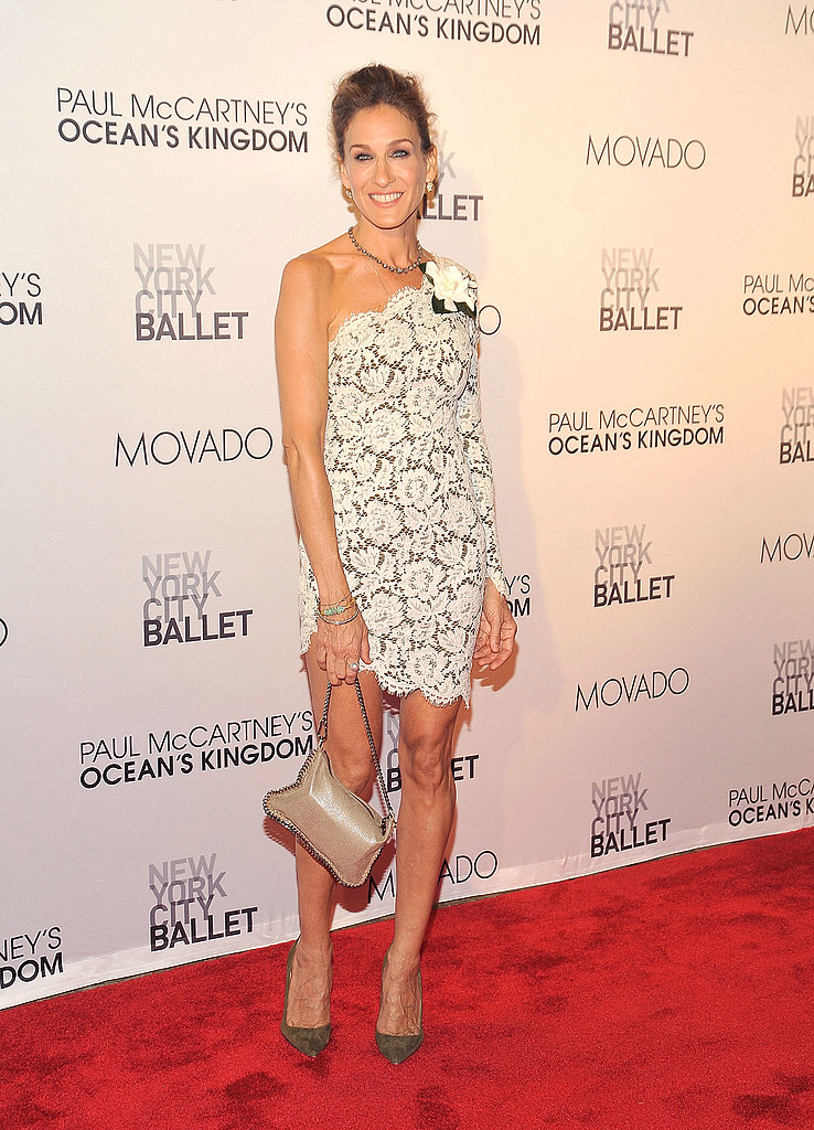 Sarah Jessica Parker in Stella McCartney.