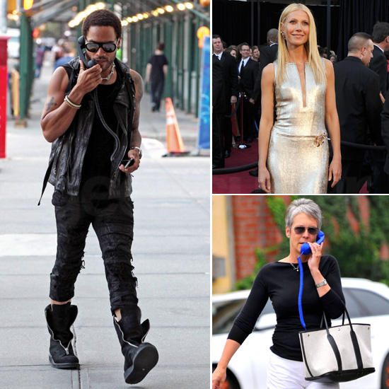 Celebs Who Love Retro Handsets