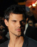 Taylor Lautner at the Abduction premiere in London.