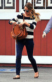 Lauren Conrad carrying a Chloé handbag.