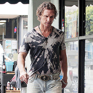 Matthew McConaughey Filming Magic Mike in LA Pictures