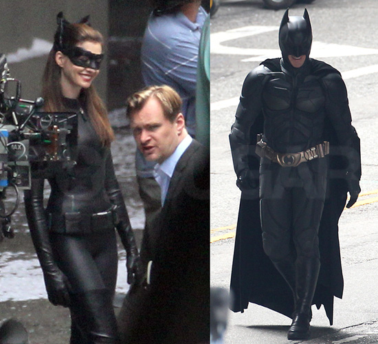 Anne Hathaway Gets Catty on Set With Christian Bale and Christopher Nolan