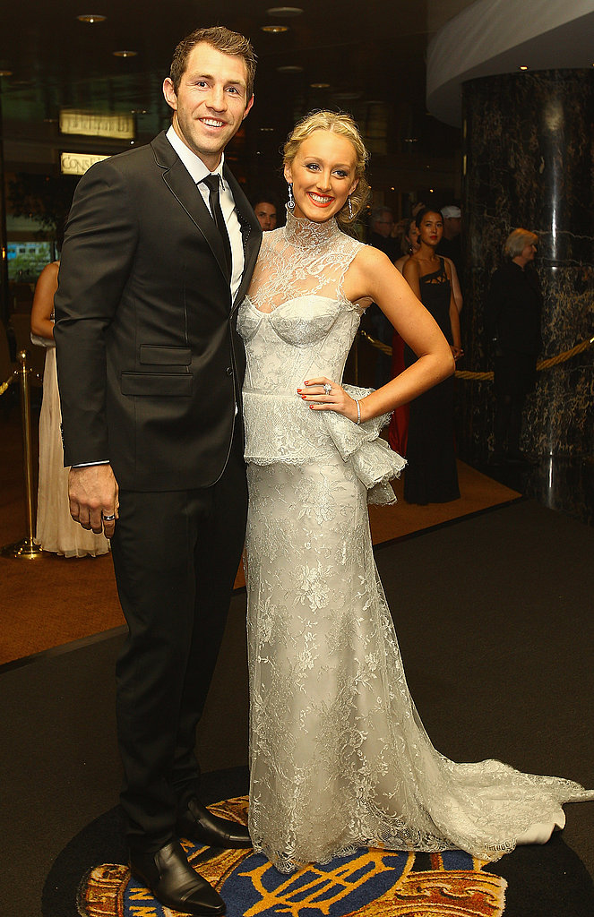 Travis Cloke and Bethany Taylor