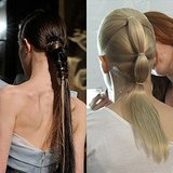 See How New York Fashion Week Made Ponytails Cool Again!