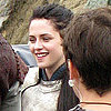Kristen Stewart Armor Pictures on Snow White and the Huntsman Set
