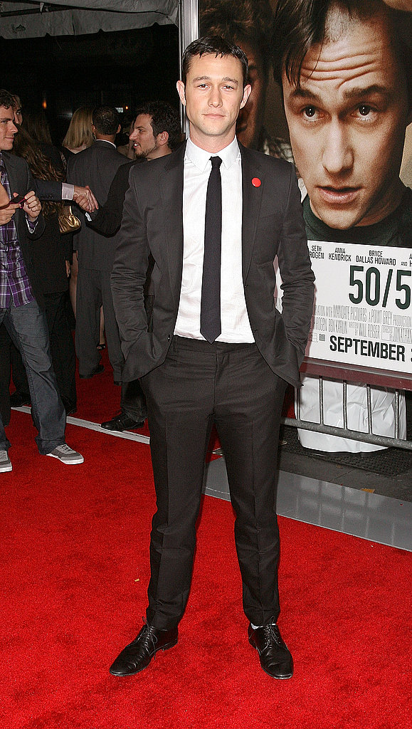 Joseph Gordon-Levitt at the premiere of 50/50 in NYC.