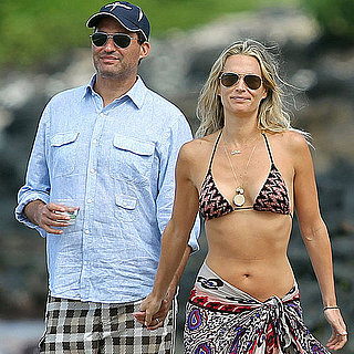 Molly Sims in a Bikini Honeymoon Pictures