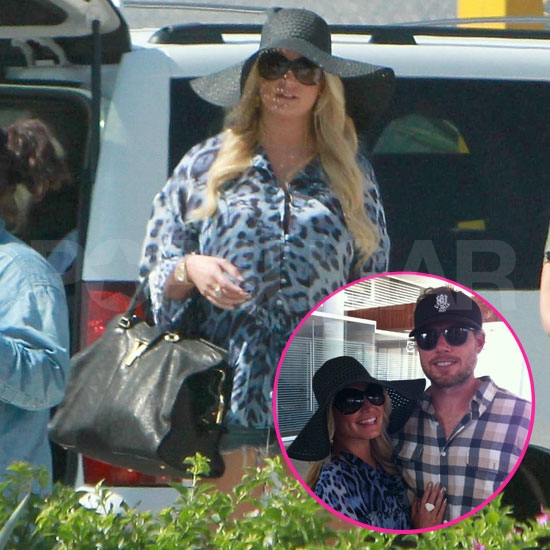 Jessica Simpson and Eric Johnson Take Off From a Fun Cabo Vacation