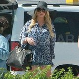 Jessica Simpson leaving Cabo.