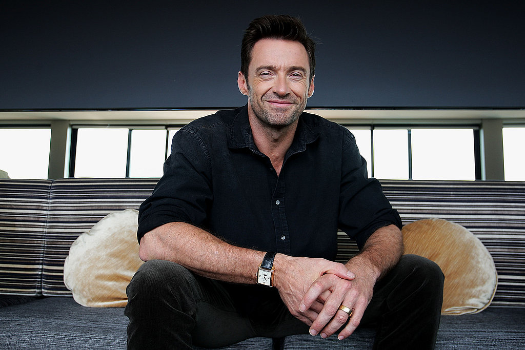 Hugh Jackman promoted Real Steel in Sydney.
