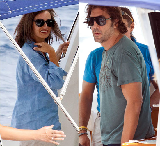 Javier Accompanies Penelope as She Sets Sail For an Island Shoot