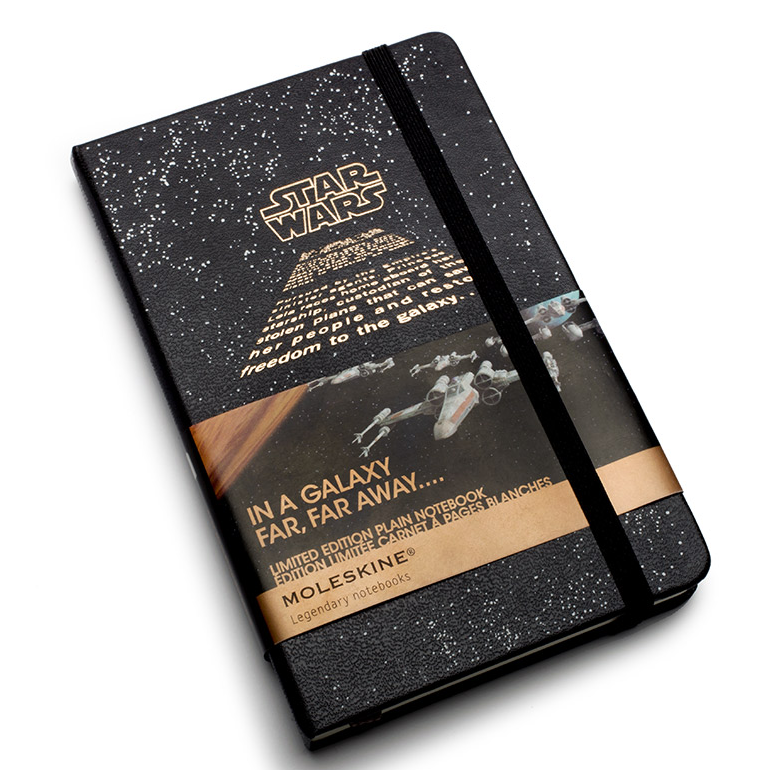 Star Wars Moleskines ($15 - $20)
