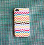 Multicolor Chevron iPhone 4 Case ($40)