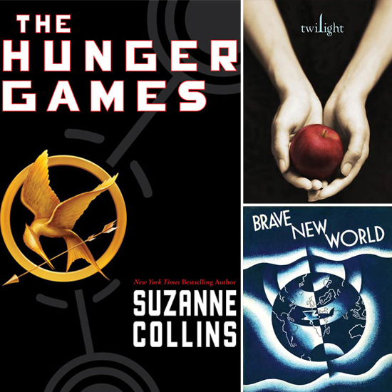 The Hunger Games and Twilight Among Top Banned Books