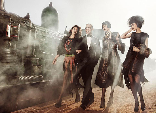 All Aboard! Snoop Australia's Next Top Model 1920s Shoot