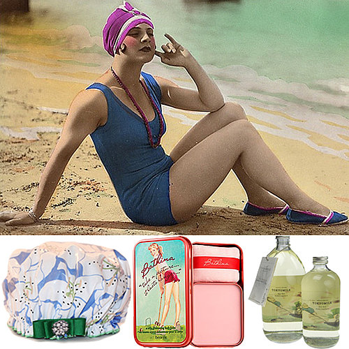 Vintage-Inspired Bathing Beauty Products
