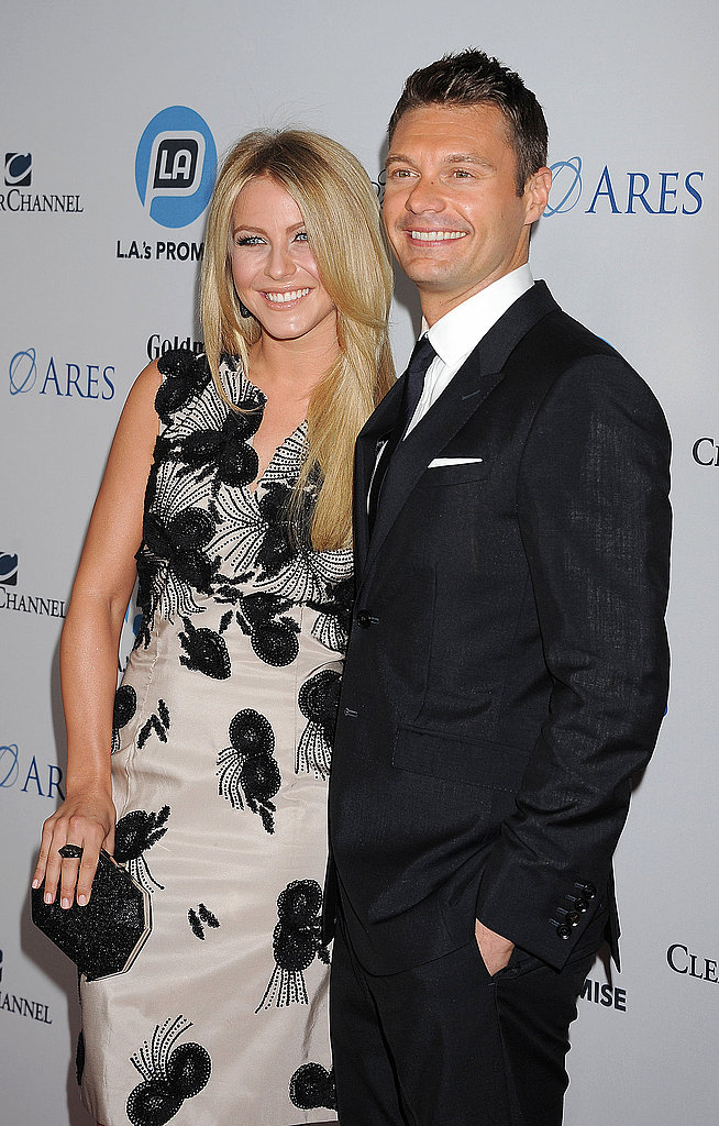 Julianne Hough accompanied Ryan Seacrest to the 2011 Promise Gala in LA.