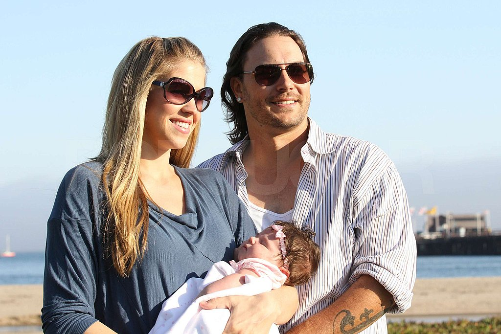 Kevin Federline and Victoria Prince took baby Jordan Kay to the beach.