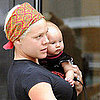 Pink With Baby Willow in NYC