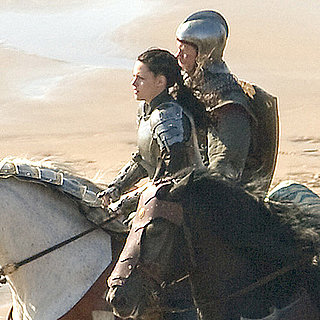 Kristen Stewart Snow White Pictures With Chris Hemsworth