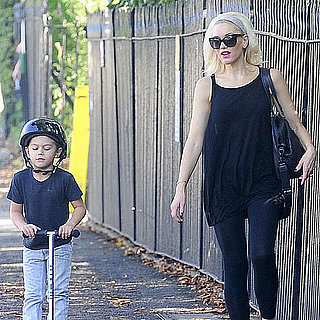 Gwen Stefani Pictures in England With Zuma and Kingston