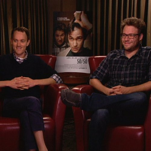 Seth Rogen and Will Reiser 50/50 Interview Video