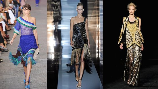 Milan Fashion Week Trend Report: Fabulous Fringe!