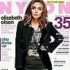 Elizabeth Olsen on Nylon Cover For October 2011