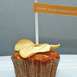 Rosh Hashanah Honey Apple Cupcakes For Kids