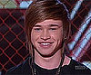 Video of Reece Mastin Performing I Kissed a Girl and Kissing a Backup Dancer on The X Factor