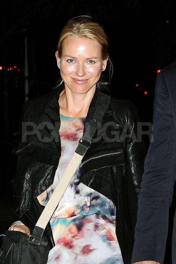Naomi Watts spent her birthday in NYC.