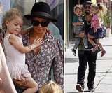 Nicole Richie and Joel Madden Divide Their Day With Harlow and Sparrow