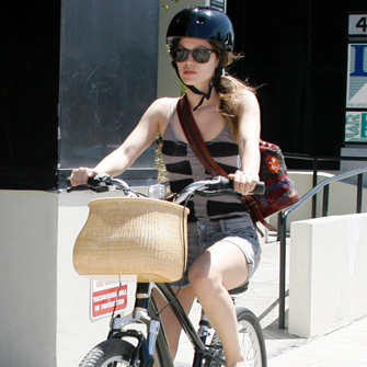Celebrities Who Ride Bikes