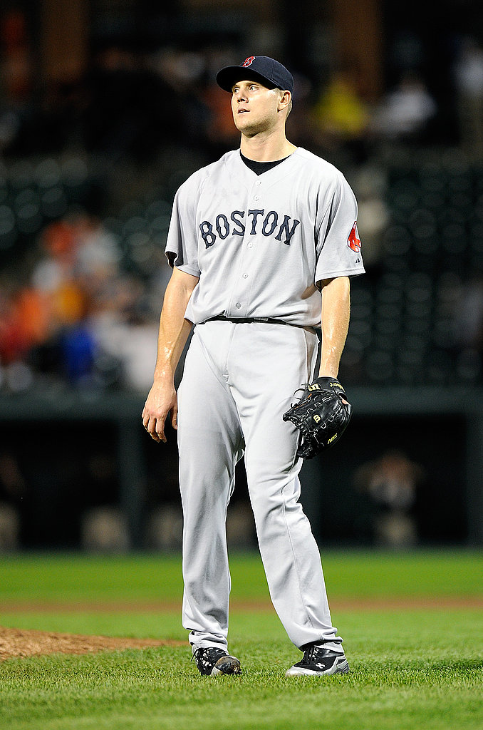 Jonathan Papelbon reacts after giving up the game-winning hit against the Baltimore Orioles last night.