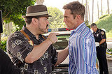 David Zayas as Angel Batista and Desmond Harrington as Joey Quinn on Dexter.  Photo courtesy of Showtime